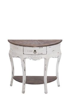 Parisian Market Finds on HauteLook; great console table for entryway. Like the size and such a lovely look!