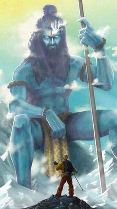 Mahakal Shiva, Shiva Art, Hindu Art, Angry Lord Shiva, Rudra Shiva, Aghori Shiva, Shiva Shankar, Shri Hanuman, Durga Maa