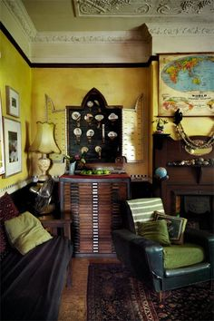 anotherboheminan:  (via eclectic vintage victorian @ My-House-My-HomeMy-House-My-Home)