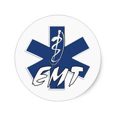 EMT Active Star of Life Stickers