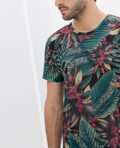 Image 5 of TROPICAL T-SHIRT from Zara