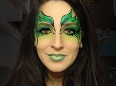 poison ivy face painting