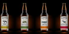 CleverMan is a range of premium Irish Ales produced by DrewFox Brewing Co,  a new Irish craft brewery founded by an adventurous couple, Andrea and  Malcolm Molloy.