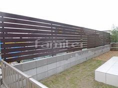 Compound Wall, Wood, Outdoor Decor, Colors, Handmade, House, Fences, Terrace, Gardens