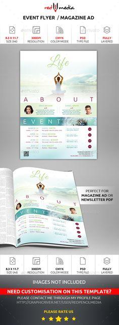 Event Flyer / Magazine AD