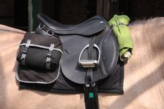 All horses are fitted with their own modern and comfortable trail riding saddle. Saddlebags are provided for you to store your essentials for the day and extra clothing may be tied to the front of the saddle.