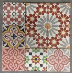 Love these tiles from moroccan warehouse