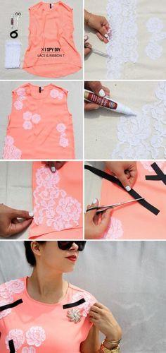 15 DIY Fashion Projects That You Have To Try Progetti Di Cucito edd34e2081a