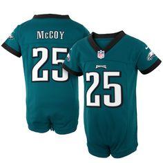 a47d7ea5dba ... Womens Jersey Nike LeSean McCoy Philadelphia Eagles Newborn Game Romper  Jersey – Midnight Green ...