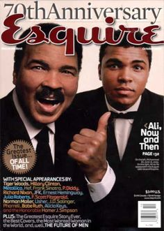 A cover gallery for Esquire Muhammad Ali Now, Star Trek Posters, Sting Like A Bee, Float Like A Butterfly, Boxing Champions, Bobe, Ali Quotes, Black History Facts, African American History