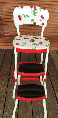 A personal favorite from my Etsy shop //.etsy.com. Kitchen StoolsRed KitchenKitchen Step ... & I have a really old one of these. My favorite chair as a kid. I ... islam-shia.org