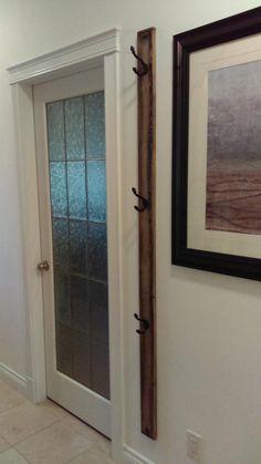 vertical space saver coat hanger unit