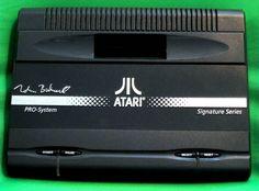 Rare Nolan Bushnell Atari 7800 Black