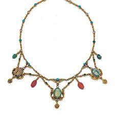 An Antique Egyptian Revival Necklace