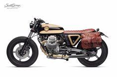 ϟ Hell Kustom ϟ: Moto Guzzi V65 By South Garage Motorcycles