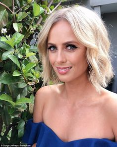 Sylvia Jeffreys, reveals to Nova Chrissie, Sam and Browny radio show, why she doesn't expect to receive an invitation to Karl Stefanovic's wedding. Today Show Hosts, Sister In Law, Beautiful Couple, Got Married, Hair Cuts, Told You So, Hair Beauty, Short Haircuts, Low Key