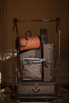 Travel in style - Louis Vuitton luggage