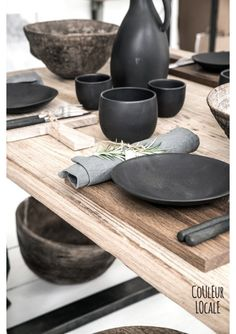 Black Ceramics by Nelson Sepulveda - Ceramics - Kitchen - Home Accessories