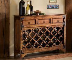 Wine Steward Console Table