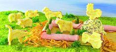 Lustiger Bauernhof für Kinder Rezept | Dr. Oetker