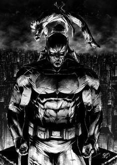 [ ] Batman - The Last Joke of the Joker by Jordan Barbosa Batman Artwork, Batman Comic Art, Batman Wallpaper, Im Batman, Superman, Dc Comic Books, Comic Book Characters, Arte Dc Comics, Marvel Comics
