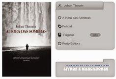 Livros e marcadores: A Hora das Sombras de Johan Theorin