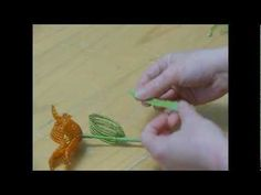 French Beaded Flowers - Lesson 3 - Continuous Loops, Flower Assembly, Re...