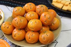 A healthier school party snack! Happy Halloween