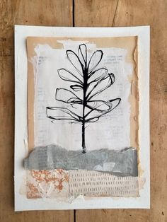 Embrace your light and your dark ⠀ acrylic and collage on paper ⠀ colage an Collage Art Mixed Media, Mixed Media Journal, Collage Artwork, Mixed Media Artists, Mixed Media Painting, Painting Tips, Painting Art, Watercolor Painting, Kunstjournal Inspiration