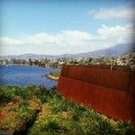 Blue sky view from the excellent #MONA in #Hobart, #Tasmania, #Australia. Image by @Anita Isalska. #lonelyplanet #travel