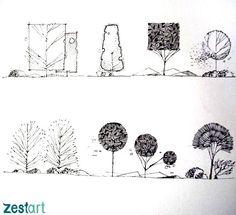 kí họa cơ bản, diễn họa kiến trúc