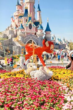 The Cherry Blossom Girl - Disneyland Paris Swing Into Spring