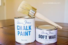 Home Made Chalk Paint {ASCP Knock-Off} -