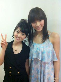 優子とさやか #AKB48