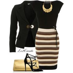 I would totally rock this work outfit :)