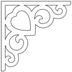 Thermocol Craft, Wood Shop Projects, Paper Crafts, Diy Crafts, Stencil Patterns, Scroll Saw Patterns, Metal Artwork, Stained Glass Patterns, Free Motion Quilting