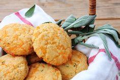 Cheddar Sage Biscuits ~ gluten free