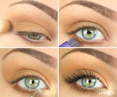 Just enough. Perfect everyday makeup if you still want to wear eyeshadow.