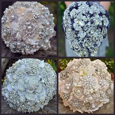 Lillys Lace: Miranda Lambert's dreamy Bridal Brooch Bouquets brought to life by Artist, Noaki.