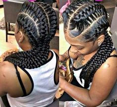 Braids for Spring! Underbraids, Box Braids and Cornrows Single Braids Hairstyles, African Braids Hairstyles, My Hairstyle, Pretty Hairstyles, Girl Hairstyles, Evening Hairstyles, Hairstyles Videos, Black Girl Braids, Girls Braids