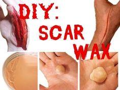 Scar Wax Recipe : DIY Scar Wax SFX Makeup - YouTube More