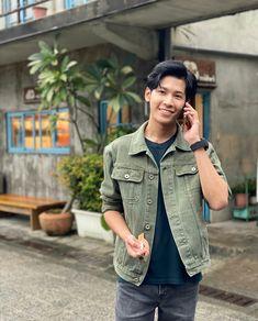 Drama Fever, Jaebum Got7, Cute Gay Couples, Thai Drama, Asian Boys, My Man, My Boys, Military Jacket, Thailand