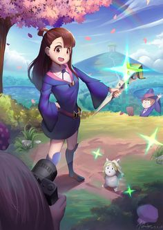 Created By:   PekaQ   ☆ ◇ respective credits to the creator ◇ ☆ Little Witch Academia Diana, Little Wich Academia, All Anime, Me Me Me Anime, Anime Art, Anime Titles, Anime Characters, Flying Witch Anime, Netflix Anime