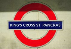 King's Cross St. Pancras! This lively tube station serves as one of the main connections in London Central. And for those who are interested -- this is where you'll catch the Hogwarts Express on Platform 9 3/4! #london #england #kingscross #harrpotter #travel #justbook