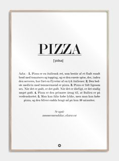 Cute Pizza, Funny Signs, Definitions, Letter Board, Positivity, Humor, Words, Denmark, Maya