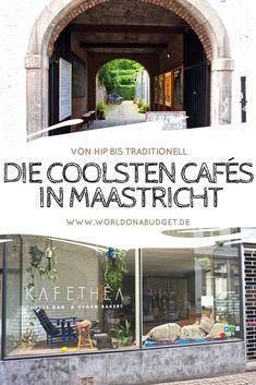 Maastricht: cafés legais e dicas de viagem - - Europa Tour, Best Places In Europe, Holland Netherlands, Travel Netherlands, Diy Outdoor Bar, Europe Continent, Reisen In Europa, Living In Europe, Cool Cafe