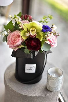 Black Box, Vase, Table Decorations, Flowers, Home Decor, Decoration Home, Room Decor, Vases, Royal Icing Flowers