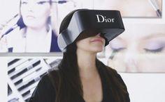 El casco de realidad virtual, Dior Eyes.