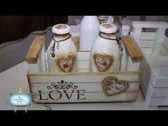 Cajón de frutas decorado y reciclado / Decorated drawer fruit . - YouTube