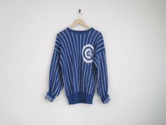 1980s Chicago Cubs Pinstriped Sweater